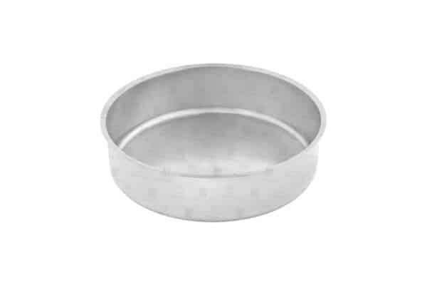 ظرف آب گرد شفینگ دیش گرد رول تاپ استیل فرم