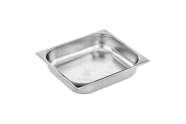 ظرف-غذا - شفینگ دیش مربع استیل فرم